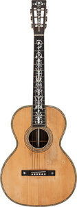 Musical Instruments:Acoustic Guitars, Circa 1925-1930 Larson Bro's Prairie State Auditorium Natural Acoustic Guitar, Serial # 1768261....