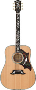 Musical Instruments:Acoustic Guitars, 1993 Gibson Dove Natural Acoustic Guitar, Serial # 93273003....