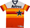 Autographs:Bats, 1982 Joe Sambito Game Worn Houston Astros Jersey. . ...