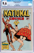 Golden Age (1938-1955):Superhero, National Comics #45 Mile High Pedigree (Quality, 1944) CGC NM+ 9.6 White pages....