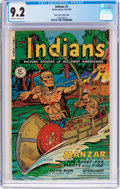 Golden Age (1938-1955):Western, Indians #3 Mile High Pedigree (Fiction House, 1950) CGC NM- 9.2 Off-white to white pages....