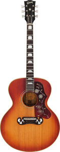 Musical Instruments:Acoustic Guitars, Circa 1961-1962 Gibson Custom Model Sunburst Acoustic Guitar, Serial # 175839....