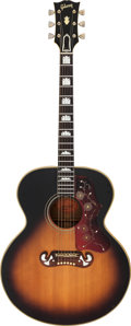 Musical Instruments:Acoustic Guitars, 1961 Gibson J-200 Sunburst Acoustic Guitar, Serial # 61250....