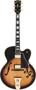 Musical Instruments:Electric Guitars, Circa 1970-1974 Gibson L-5CES Sunburst Archtop Electric Guitar, Serial # 402397....