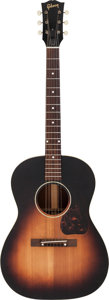 Musical Instruments:Acoustic Guitars, Circa 1949 Gibson LG-2 Sunburst Acoustic Guitar, Serial # 4065....