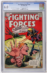 Our Fighting Forces #101 (DC, 1966) CGC FN 6.0 Cream to off-white pages