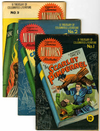 Stories by Famous Authors Illustrated Group (Seaboard Pub., 1950-51) Condition: Average FN+.... (Total: 13 Comic Books)