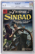 Silver Age (1956-1969):Miscellaneous, Four Color #944 7th Voyage of Sinbad (Dell, 1958) CGC FN+ 6.5 Creamto off-white pages....
