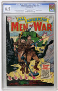 Golden Age (1938-1955):War, All-American Men of War #17 (DC, 1955) CGC FN+ 6.5 Cream tooff-white pages....