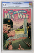 Golden Age (1938-1955):War, All-American Men of War #7 (DC, 1953) CGC FN 6.0 Cream to off-whitepages....