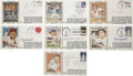 Autographs:Baseballs, Vintage Baseball Stars Signed First Day Covers Lot of 14. Fantasticassortment of 14 first day covers -- all in tip-top con...