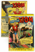 Golden Age (1938-1955):Science Fiction, Captain Atom #1 and 2 Group (Nationwide Publications, 1950)....(Total: 2 Items)