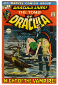 Bronze Age (1970-1979):Horror, Tomb of Dracula #1 (Marvel, 1972) Condition: FN+....