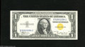 Small Size:World War II Emergency Notes, Fr. 2306 $1 1934A North Africa Silver Certificate. Choice-Gem CU. This North Africa $1 was able to avoid circulation duty....