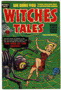 Golden Age (1938-1955):Horror, Witches Tales #12 (Harvey, 1952) Condition: FN/VF....
