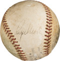 Autographs:Baseballs, 1967-68 Roger Maris Single Signed Baseball.. ...