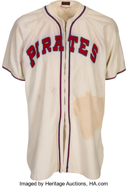 Heritage Pittsburgh Pirates Worn 50349 1946 Game Lot Honus Wagner Coach's Auctions Circa