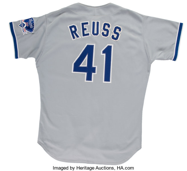 1983 Jerry Reuss Game Worn Los Angeles Dodgers Jersey. . ...  688a7253677