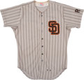 Baseball Collectibles:Uniforms, 1985 Dick Williams Game Worn San Diego Padres Jersey. . ...