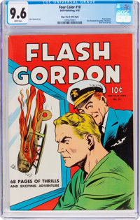 Four Color #10 Flash Gordon - Mile High Pedigree (Dell, 1942) CGC NM+ 9.6 White pages