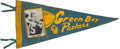 Football Collectibles:Others, 1960's Bart Starr Green Bay Packers Photo Pennant. ...