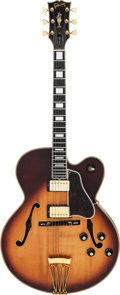 Musical Instruments:Electric Guitars, Circa 1974 Gibson Byrdland Sunburst Semi-Hollow Body ElectricGuitar, Serial # 397112....