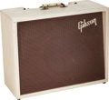 Musical Instruments:Amplifiers, PA, & Effects, 1960 Gibson GA-8 Gibsonette White Guitar Amplifier, Serial # 114690....
