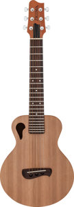 Musical Instruments:Acoustic Guitars, Modern Tacoma Papoose Natural Acoustic Guitar, Serial # B0765150....