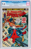 Bronze Age (1970-1979):Superhero, The Amazing Spider-Man #123 (Marvel, 1973) CGC NM/MT 9.8 Off-whiteto white pages....