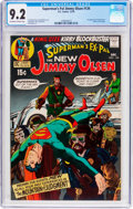 Bronze Age (1970-1979):Superhero, Superman's Pal Jimmy Olsen #134 (DC, 1970) CGC NM- 9.2 Off-white to white pages....