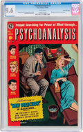 Golden Age (1938-1955):Horror, Psychoanalysis #1 Gaines File Pedigree 11/12 (EC, 1955) CGC NM+ 9.6White pages....
