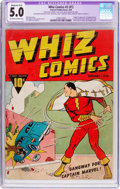 Golden Age (1938-1955):Superhero, Whiz Comics #2 (#1) (Fawcett Publications, 1940) CGC Apparent VG/FN 5.0 Moderate (B-3) Off-white to white pages....