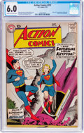 Silver Age (1956-1969):Superhero, Action Comics #252 (DC, 1959) CGC FN 6.0 Cream to off-white pages....