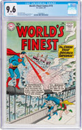 Silver Age (1956-1969):Superhero, World's Finest Comics #115 (DC, 1961) CGC NM+ 9.6 White pages....