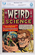 Golden Age (1938-1955):Science Fiction, Weird Science #12 (#1) (EC, 1950) CBCS VF- 7.5 Off-white to whitepages....