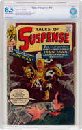 Silver Age (1956-1969):Superhero, Tales of Suspense #42 (Marvel, 1963) CBCS VF+ 8.5 Off-white to white pages....