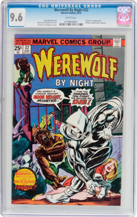 Werewolf by Night #32 (Marvel, 1975) CGC NM+ 9.6 White pages