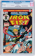 Bronze Age (1970-1979):Superhero, Marvel Premiere #15 Iron Fist (Marvel, 1974) CGC NM+ 9.6 Whitepages....