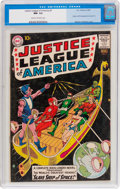 Silver Age (1956-1969):Superhero, Justice League of America #3 (DC, 1961) CGC NM- 9.2 Cream tooff-white pages....