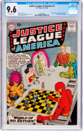 Silver Age (1956-1969):Superhero, Justice League of America #1 (DC, 1960) CGC NM+ 9.6 Off-whitepages....