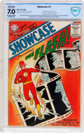 Silver Age (1956-1969):Superhero, Showcase #4 The Flash - Trimmed (DC, 1956) CBCS Restored FN/VF 7.0Moderate to Extensive (A) Off-white to white pages....
