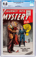 Silver Age (1956-1969):Horror, Journey Into Mystery #30 (Marvel, 1956) CGC VF/NM 9.0 Whitepages....
