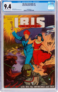 Golden Age (1938-1955):Science Fiction, Ibis The Invincible #3 (Fawcett Publications, 1945) CGC NM 9.4Off-white to white pages....