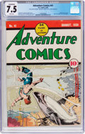 Golden Age (1938-1955):Superhero, Adventure Comics #41 (DC, 1939) CGC Conserved VF- 7.5 White pages....