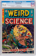 Golden Age (1938-1955):Science Fiction, Weird Science #9 Gaines File Pedigree 9/12 (EC, 1951) CGC NM+ 9.6Off-white to white pages....