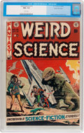 Golden Age (1938-1955):Science Fiction, Weird Science #15 Gaines File Pedigree 3/12 (EC, 1952) CGC NM+ 9.6White pages....