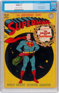 Golden Age (1938-1955):Superhero, Superman #53 (DC, 1948) CGC VF/NM 9.0 Off-white to white pages....