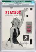 Magazines:Miscellaneous, Playboy #1 Signed by Hugh Hefner (HMH Publishing, 1953) CGC Qualified VF/NM 9.0 White pages....