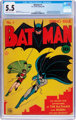 Batman #1 (DC, 1940) CGC FN- 5.5 Cream to off-white pages