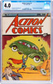 Action Comics #1 (DC, 1938) CGC VG 4.0 Cream to off-white pages